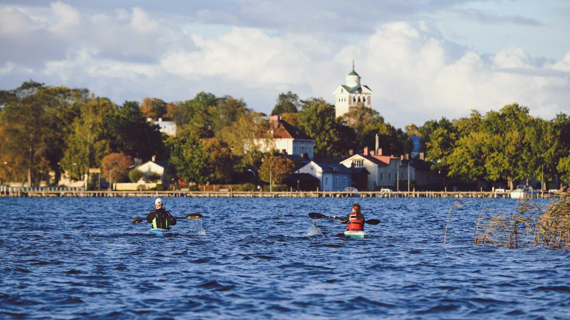 Visit Rasebrog - paddling Ekenäs - photo Johan Ljungqvist